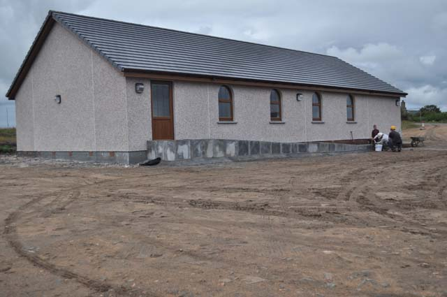Latest - Exterior of Church - East View - 17.08.2011